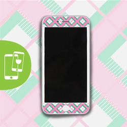Perfect Plaid - White Screen Protector - Tempered Glass