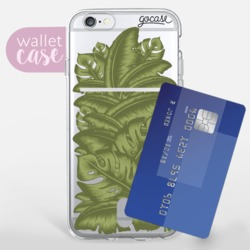 Leaves - Wallet Phone Case
