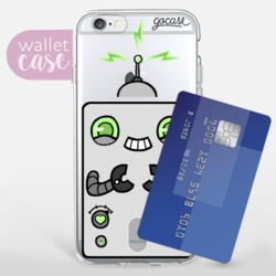Mr. Roboto - Wallet Phone Case