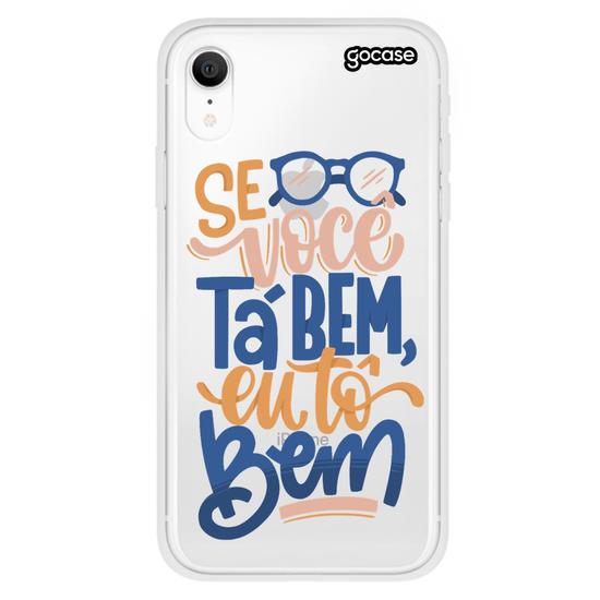 Capinha para celular Estamos Bem by Fred Elboni