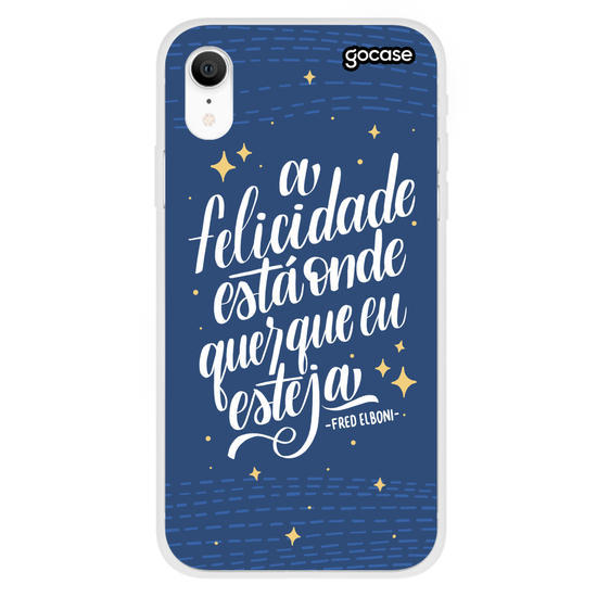Capinha para celular Tua Felicidade by Fred Elboni