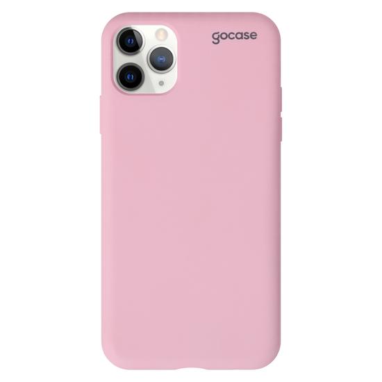 Capinha para celular Silicone - Rosa - Clear