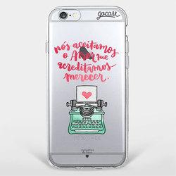 Capinha para celular Amor Merecido