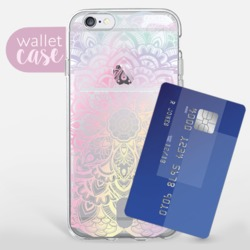 Iridescent Mandala - Wallet  Phone Case