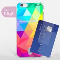 Multicolor Stars - Wallet  Phone Case