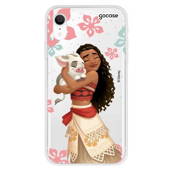 Capinha para celular Disney - Moana e Pua