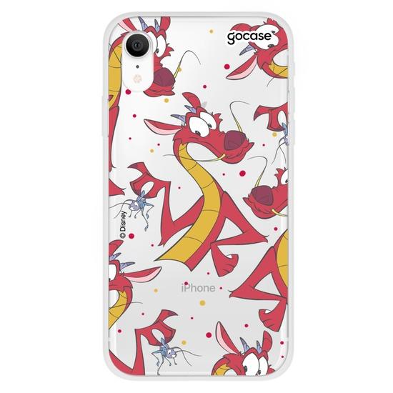 Capinha para celular Disney - Mushu Pattern