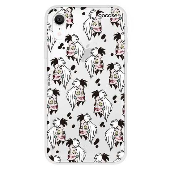 Capinha para celular Disney - Cruella Pattern