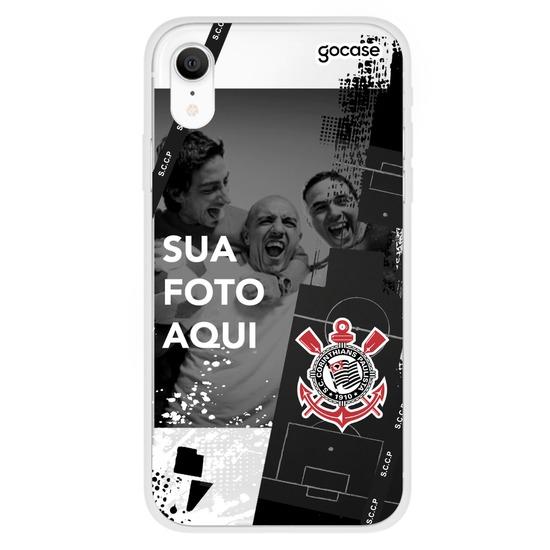 Capinha para celular Corinthians - Picture Moldura