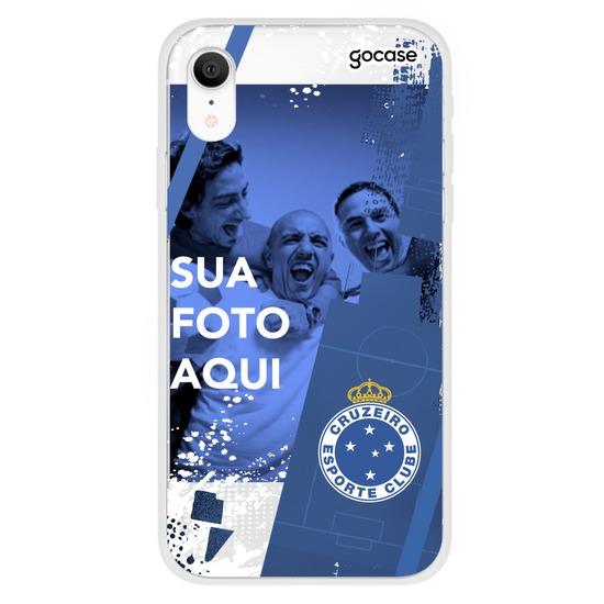 Capinha para celular Cruzeiro - Picture Moldura