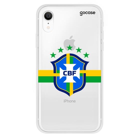 Capinha para celular Seleção Brasileira - Escudo Clean