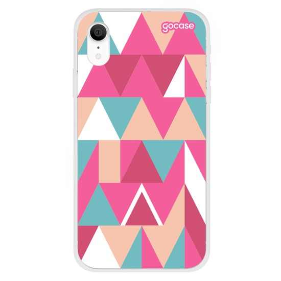 Capinha para celular Mosaico Pink