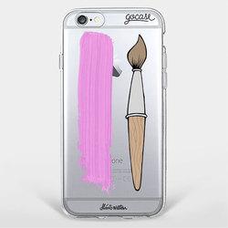 Capinha para celular Brush Pink