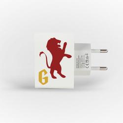 Carregador Personalizado iPhone/Android Duplo USB de Parede Gocase - Casa Leão