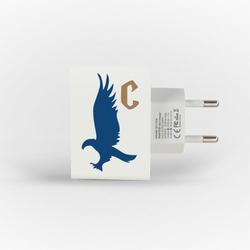 Carregador Personalizado iPhone/Android Duplo USB de Parede Gocase - Casa Águia