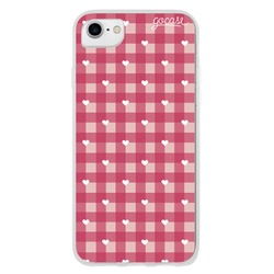 Checker Heart Phone Case