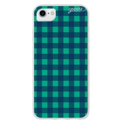 Checker Green Phone Case