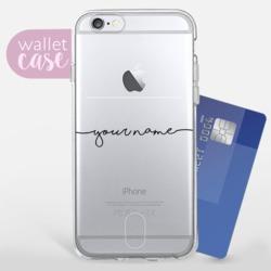 Handwritten customized - Wallet Phone Case