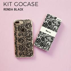 Kit Gocase Black Renda (Capinha + Carregador Portátil de 10000mAh)