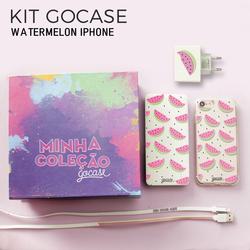 Kit Gocase Watermelon (Carregador Portátil de 10000mAh) - iPhone