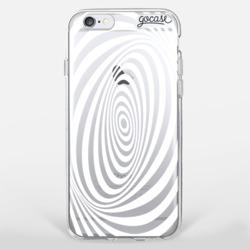 White Illusion Phone Case