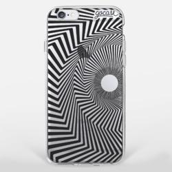 Black Spiral Phone Case
