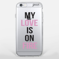 Capinha para celular Love on Fire