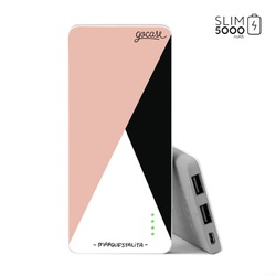 Carregador Portátil Power Bank Slim (5000mAh) - Tricolor