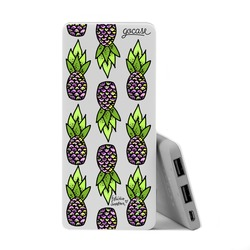 Power Bank Slim Portable Charger (5000mAh)  - Lovely Pineapples