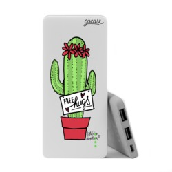 Power Bank Slim Portable Charger (5000mAh)  - Free Hugs