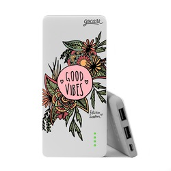 Carregador Portátil Power Bank Slim (5000mAh) - Good Vibes and Frutos