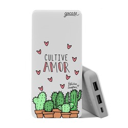 Carregador Portátil Power Bank (10000mAh) - Cultive o Amor