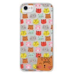 Cats Faces Phone Case