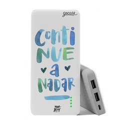 Carregador Portátil Power Bank (10000mAh) - Continue a nadar