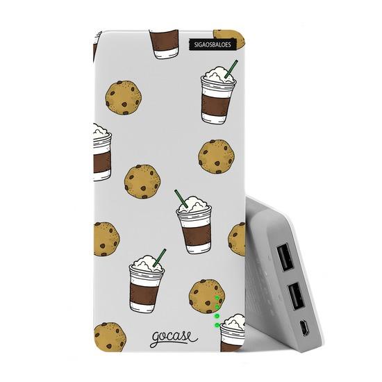 Carregador Portátil Power Bank (10000mAh) - Cookies