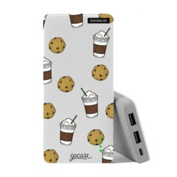 Carregador Portátil Power Bank (10000mAh) - Cookies