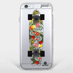 Capinha para celular Skate Floral