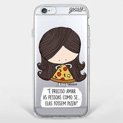 Capinha para celular Seja Pizza