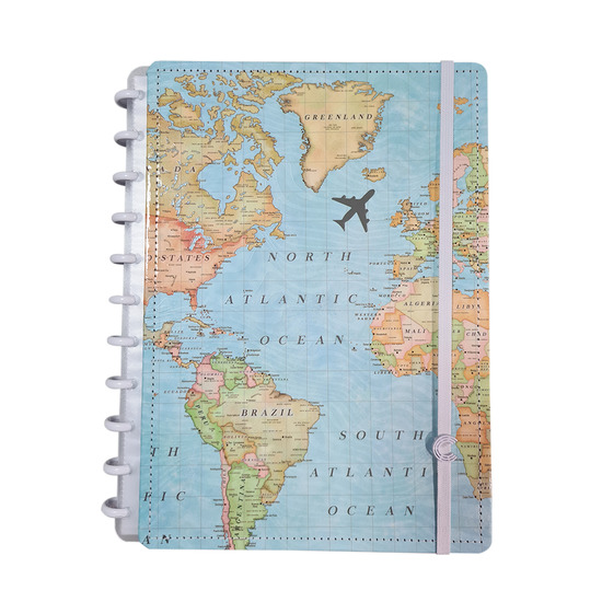 Caderno Inteligente - Mapa Mundi