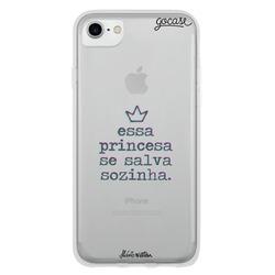 Capinha para celular Princesa Sozinha