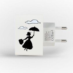 Customized Dual Usb Wall Charger for iPhone and Android - Best Nanny