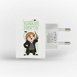 Carregador Personalizado iPhone/Android Duplo USB de Parede Gocase - Slugulus Eructo