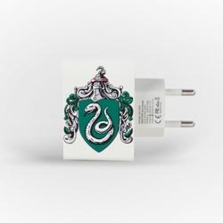 Carregador Personalizado iPhone/Android Duplo USB de Parede Gocase - Casa Verde