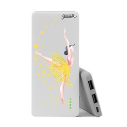 Power Bank Slim Portable Charger (5000mAh)  - Like a Ballerina
