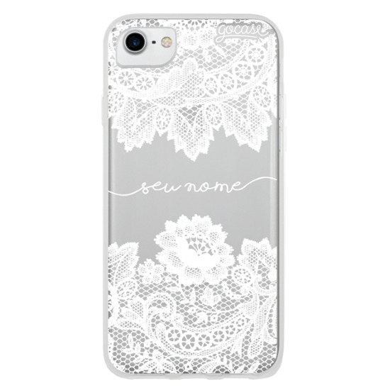 Capinha Renda Manuscrita White
