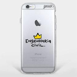 Capinha para celular Sou Engenheira Civil