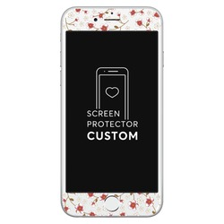 Cherry-tree White Screen Protector - Tempered Glass