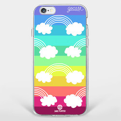 Rainbow Clouds Phone Case