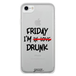 Friday I'm Drunk Phone Case
