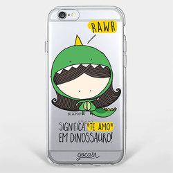 Capinha para celular Rawr!